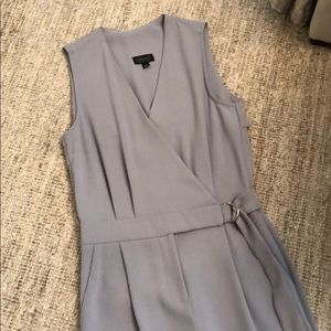 Topshop Pants - Topshop Grey Jumpsuit